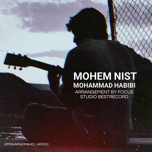 دانلود آهنگ جدید محمد حبیبی به نام مهم نیست