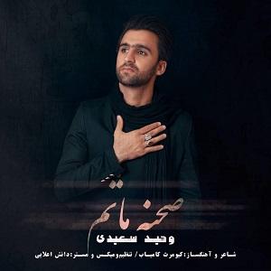 دانلود آهنگ جدید وحید سعیدی به نام صحنه ماتم