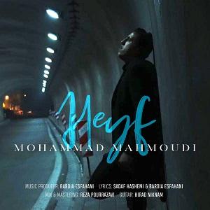 دانلود آهنگ جدید محمد محمودی به نام حیف