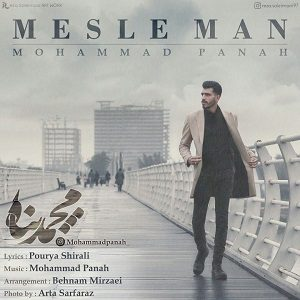 دانلود آهنگ جدید محمد پناه به نام مثل من