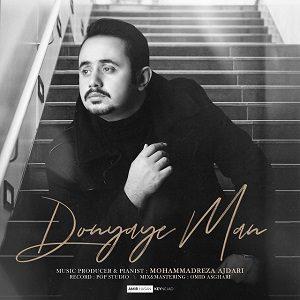 دانلود آهنگ جدید محمدرضا اژدری به نام دنیای من
