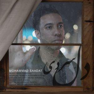 دانلود آهنگ جدید محمد سعادت به نام دل سردی