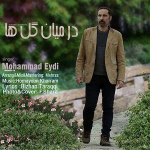 دانلود آهنگ جدید محمد عیدی به نام درمیان گل ها