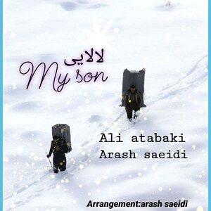 دانلود آهنگ جدید علی اتابکی و آرش سعیدی به نام لالایی و مای سان