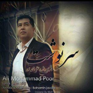 دانلود آهنگ جدید علی محمدپور به نام سرنوشت