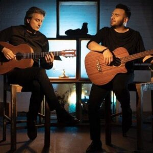 دانلود موزیک ویدیو علی ثنایی و بابک امینی به نام آوارگی