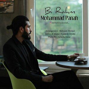 دانلود آهنگ جدید محمد پناه به نام بی رحم