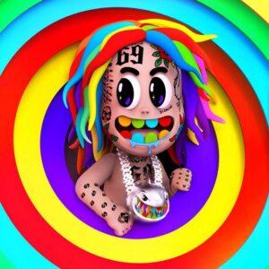 دانلود آلبوم جدید 6ix9ine تِکاشی سیکس ناین به نامTattleTales