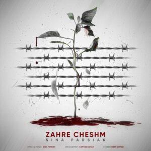 دانلود آهنگ جدید سینا پارسیان به نام زهر چشم + به همراه متن آهنگ
