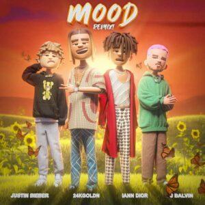 دانلود آهنگ جدید Justin Bieber J Balvin iann dior به نام Mood (Remix)