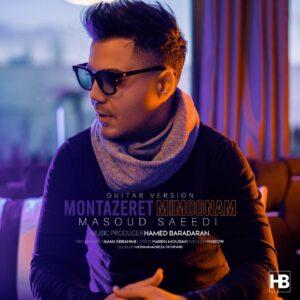 دانلود آهنگ مسعود سعیدی به نام منتظرت میمونم ( گیتار ورژن )