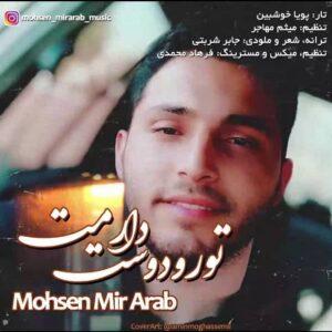 دانلود آهنگ جدید محسن میر عرب به نام تو رو دوست دارمت