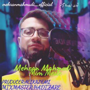 دانلود آهنگ جدید مهران محمودی به نام میم مثله